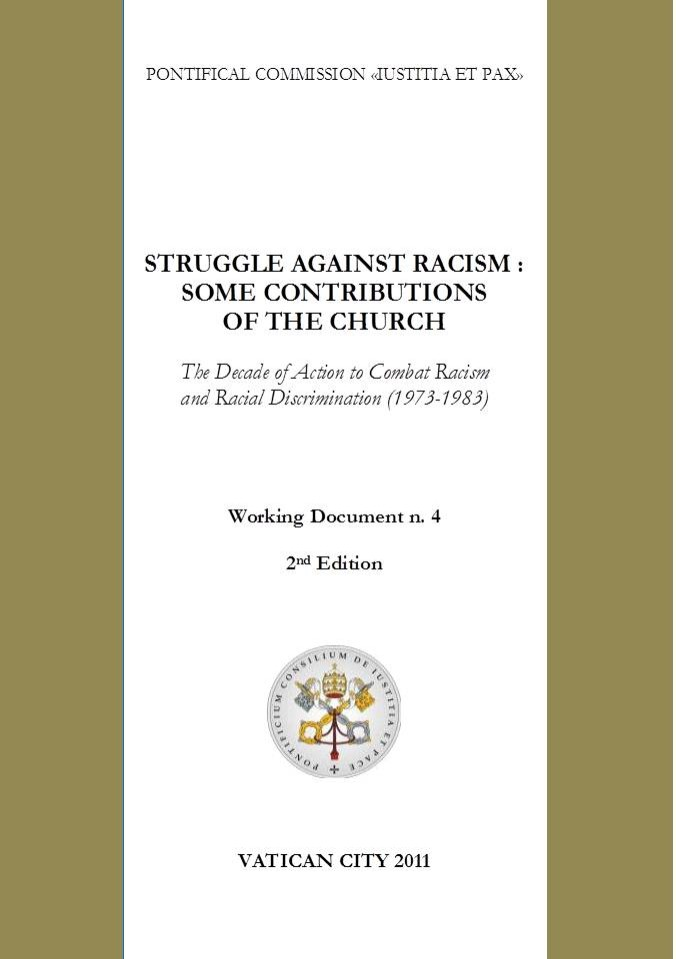 Struggle against racism: some contributions of the Church (1978)