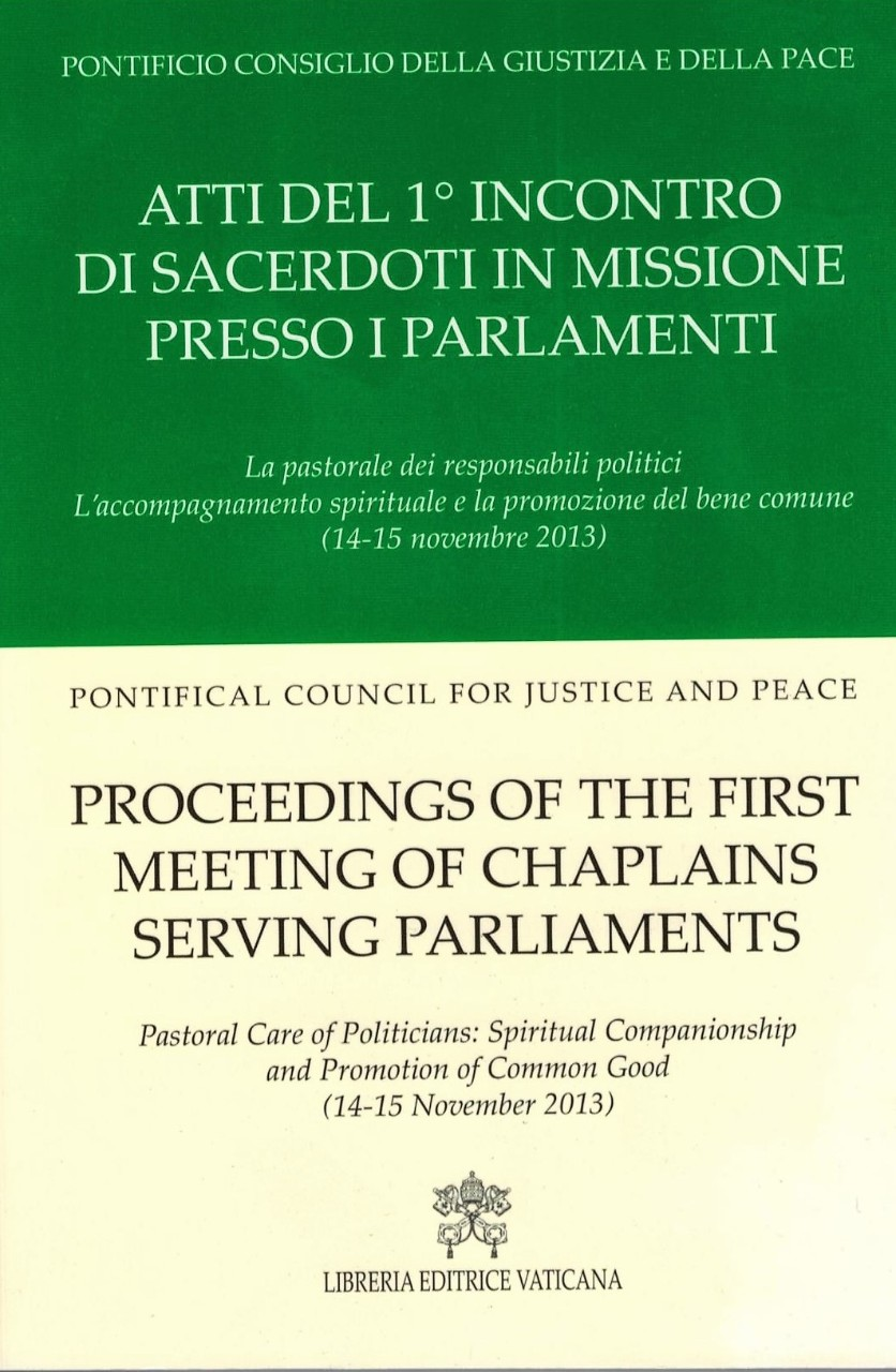 Proceeding of the First Meeting of Chaplains serving Parliaments